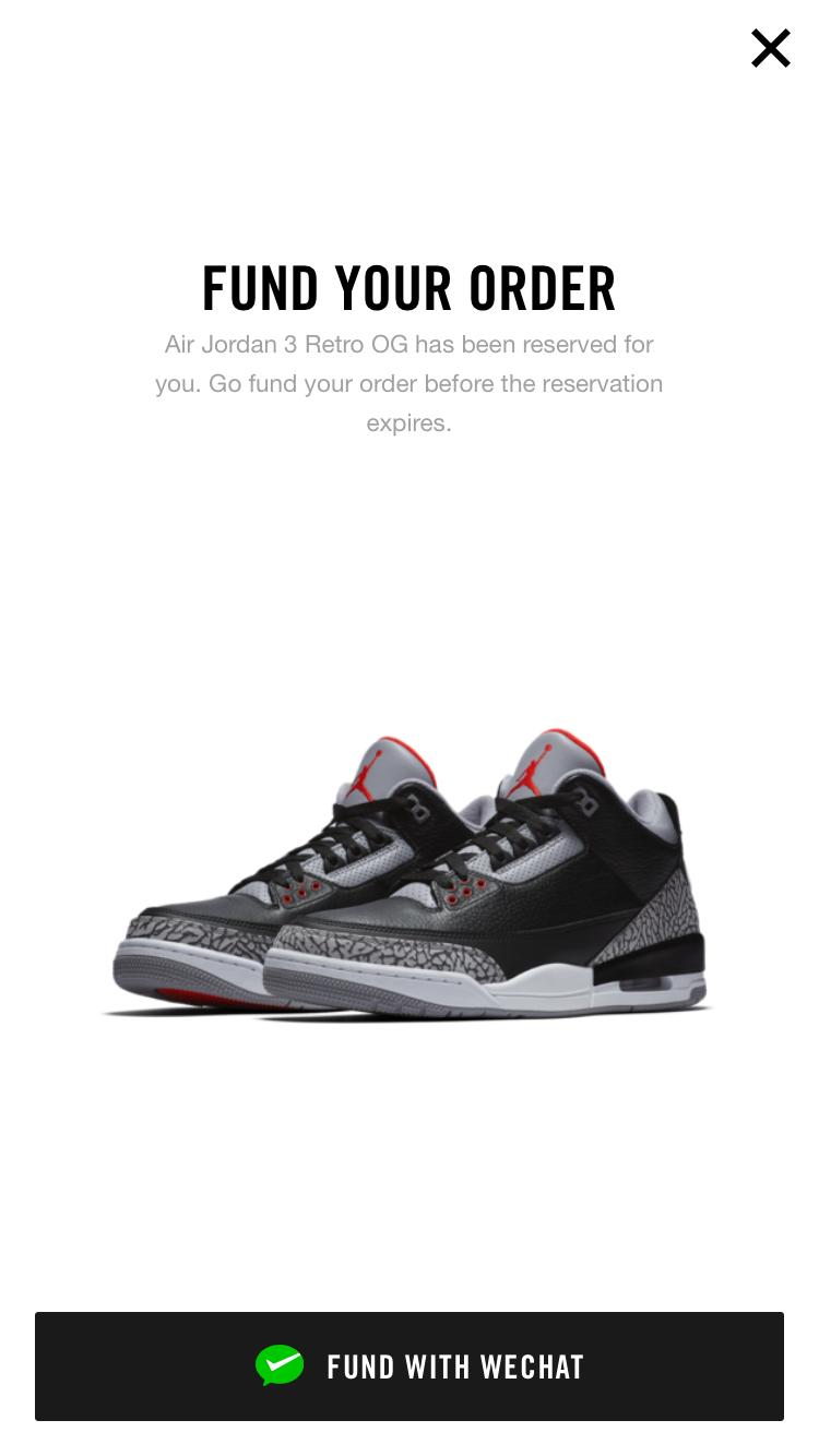 3f83177f1e94 Air Jordan III OG Black Cement returns Feb 2018 - Nike Air on the ...